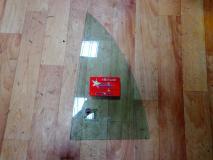 Стекло треугольное двери задней левой Geely Otaka 1800680180