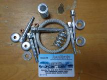 Установочный комплект глушителя Samand 16318003